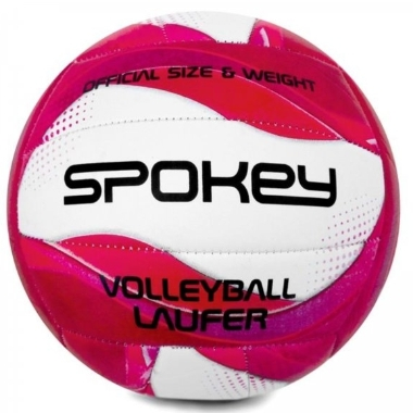 Volejbola bumba Spokey Laufer, rozā