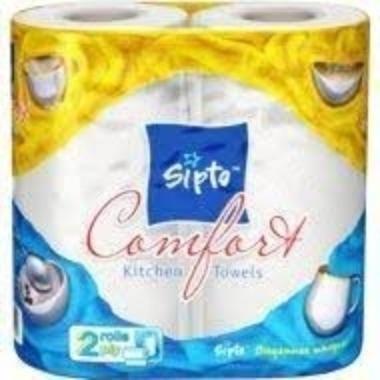 Papīra dvieļi Sipto Comfort, 2 gab.