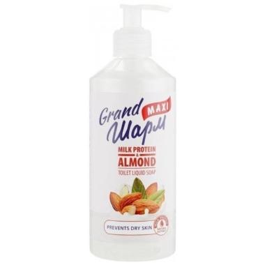 Šķidrās ziepes Grand Maxi mandeļu, 500 ml