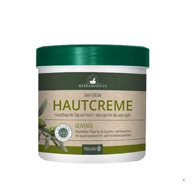 Ķermeņa krēm ar olīvām HerbaMedicus, 250 ml