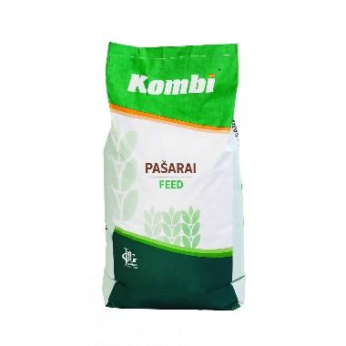Pilnvērtīga barība paipalu jaunputniem KOMBI no 0 līdz 4 ned., 10 kg