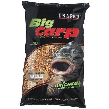 Papildbarība zivīm Big Carp Traper, dabīgs, 1 kg