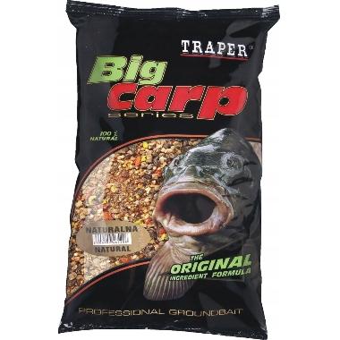 Papildbarība zivīm Big Carp Traper, kukurūzas, 1 kg