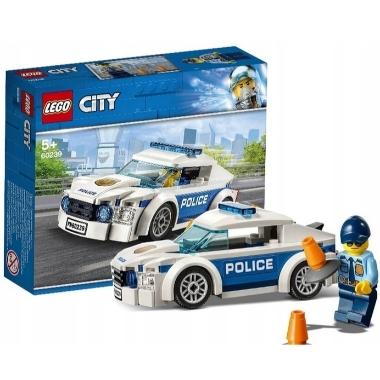Lego City 60239 Policijas patruļauto, 92 elementi