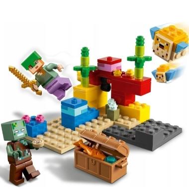 Lego Minecraft 21164 Koraļļu rifs, 92 elementi