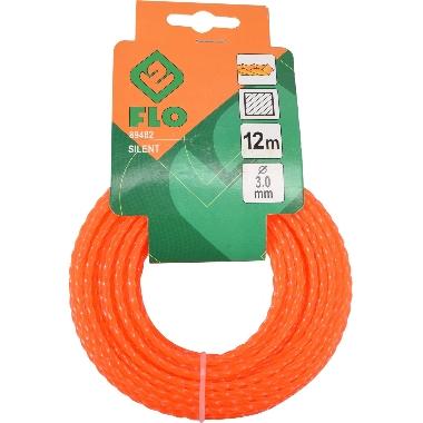 Trimmera aukla oranža 3mmx12m, Flo