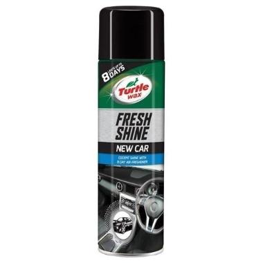 Paneļa tīrīšanas aerosols Fresh shine New Car, Turtle wax, 500 ml