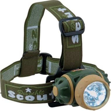 Galvas lampa bērniem LED, Scout