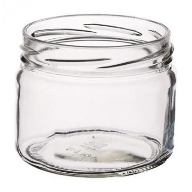 Stikla burka skrūvējama, 250 ml