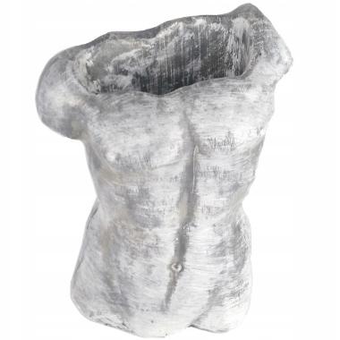 Puķu pods vīrieša torss, 29x18cm