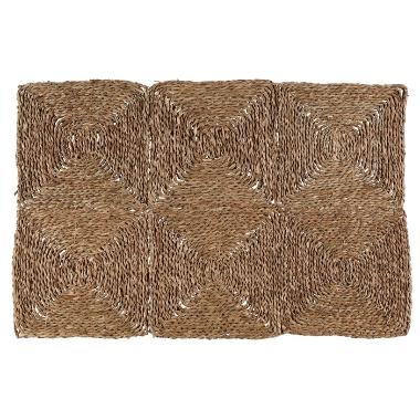 Jūraszāļu paklājs Pala 4Living, 60x90 cm