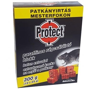 Žurku un peļu inde Protect vasks, 300 g