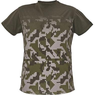 Vīriešu t-krekls Neurum zaļš, Cerva