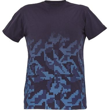 Vīriešu t-krekls Neurum zils, Cerva