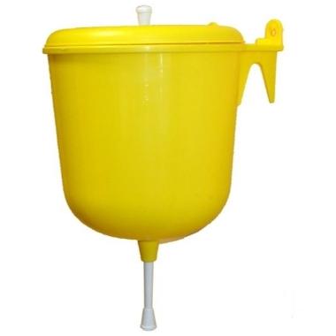Roku mazgājamā ierīce dzeltena, 4 L