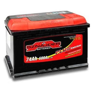 Akumulators AK-SZ57412 74Ah, Sznajder