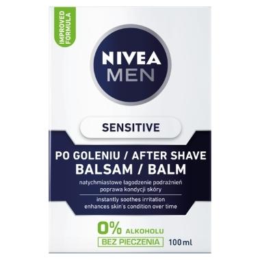 Balzams pēc skūšanās Sensitive Nivea, 100 ml