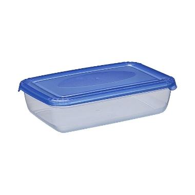 Uzglabāšanas trauks zils Polar, Plast team, 0,45 L